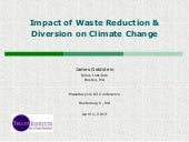 Impact of Waste Reduction & Diversi...