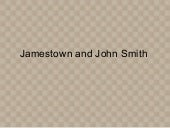 Jamestown And John Smith