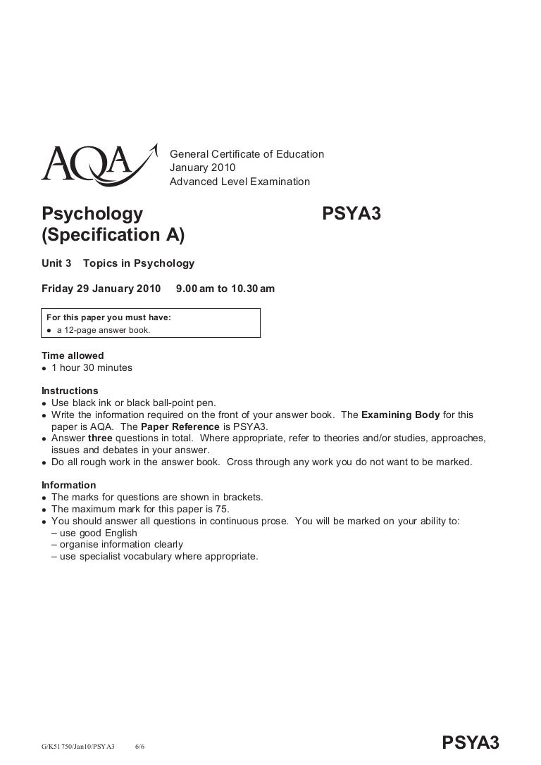 AQA AS level spanish, JANUARY 2010?!?!?
