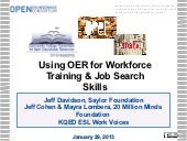 Jan 29 using oer for workforce deve...