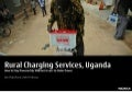 Rural Battery Charging Services Uganda