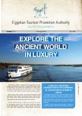 Newsletter of Egypt Tourism January...