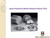 Japan Poly-silicon Market Research Report 2018