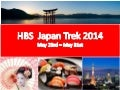 Japan trek 2014 info session feb 6