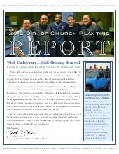 2012 Annual Report as Director of C...