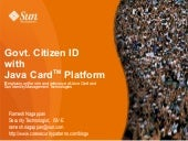 Government Citizen ID using Java Ca...