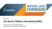 The Java EE 7 Platform: Productivit...