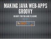 Javantura v2 - Making Java web-apps Groovy - Franjo Žilić
