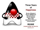 Javantura v2 - Three Years of Happiness - HUJAK - Branko Mihaljević et al