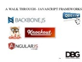 Javascript Frameworks Comparison - Angular, Knockout, Ember and Backbone