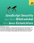 Java script security for java developers
