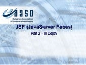 Java Server Faces (JSF) - advanced