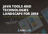 Java Tools and Technologies Landscape for 2014 (image gallery)