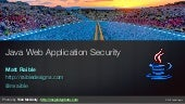 Java Web Application Security with Java EE, Spring Security and Apache Shiro - UberConf 2015