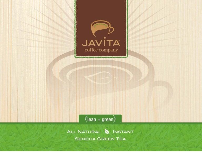 Javita Green Tea Lean