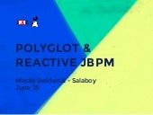 JBCNConf: jBPM & Vert.x Reactive and Polyglot BPM