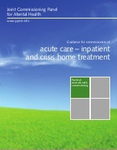 Guidance for commissioners of acute...