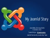My Joomla Story - Joomla!Day German...