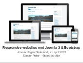 Responsive websites with Joomla 3 &...