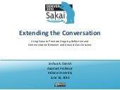 Extending the Conversation, Sakai T...