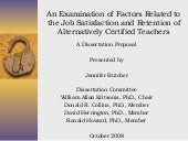 Jennifer T. Butcher, PhD Proposal D...