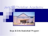 Jericho Christian Academy Marketing...