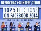 The Top 5 Elections on Facebook in 2014