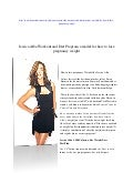 Jessica Alba 1,200 Calorie-a-day Weight Loss Diet Plan