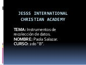 Jesss international  christian academy