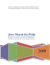 Jews March For Pride Bay Area 2009 ...