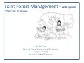 Joint Forest Management - Kerala