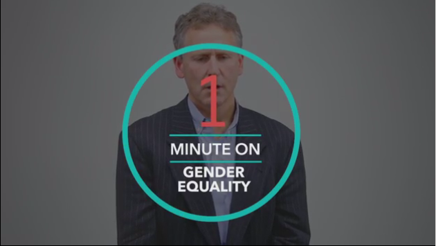 1 Minute On: Gender Equality
