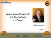 Jim Ziegler: Alpha Dawg Prosperity and Productivity