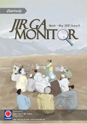 Jirga Monitor #8 (May 2013, English)