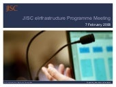 JISC Project Management Guidelines