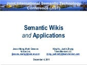 Jist tutorial   semantic wikis and ...