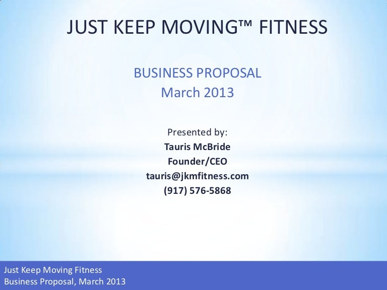 Workout Business Plan
