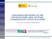 Groundwater mining in the South-Eas...