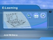 J Mc Greevy Elearning Overview 042108