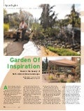 Great Oaks Landscapeis on Cover of Jewish News Cover Bible Garden