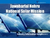 JNNSM Solar Power in India