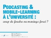 Podcasting & mobile-learning à l'un...