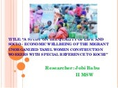Jobi Babu Research Presentation