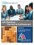 Job Matching - Key to Performance