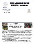 Jodo Mission of Hawaii Newsletter - October 2011