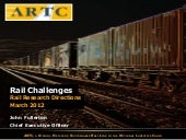 Rail Directions Workshop: ARTC