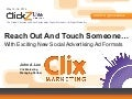 Reach Out and Touch Someone with New Social Ad Formats: John Lee ClickZ Live Toronto #CLZTO