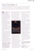 John N Zeppos - How They Blew it : Book Review CIR Magazine - August 2010
