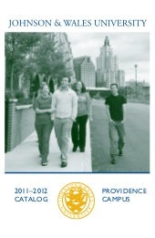 Johnson & Wales University catalog ...