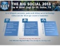 Be a part of The Big Social in Dallas, Sept. 23-25!